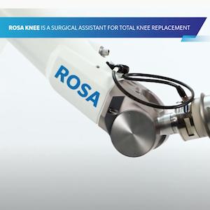 Zimmer Biomet ROSA Knee Patient Video